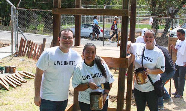 Conexión Parque llega a Kuna Nega gracias a voluntarios de Procter & Gamble