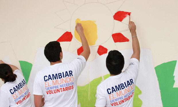 #ConexiónParque llega a Superación Campesina junto a voluntarios de P&G