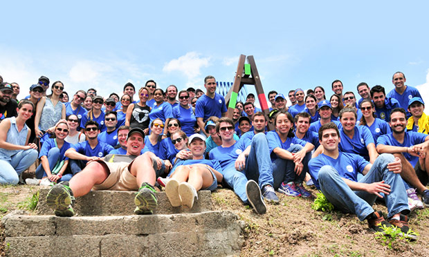 #ConexiónParque llega a Villa María junto a voluntarios de P&G