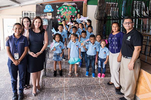 Inauguración del CEFACEI Cabuyita en la Fundación Ayudando a Vivir, con el apoyo de Copa Airlines