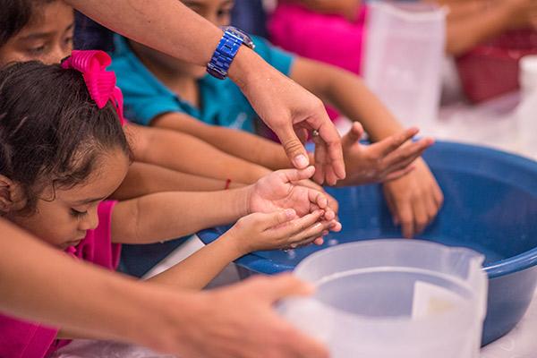 Lanzamiento del Programa Nacer Aprendiendo: Ambientes Saludables con el apoyo de Procter & Gamble Panamá en el marco del Año de la Primera Infancia