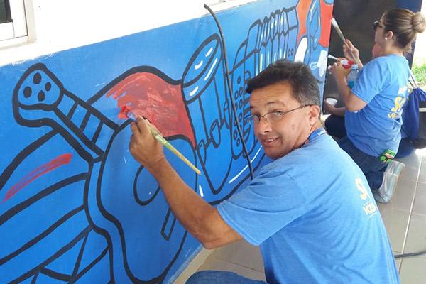 Banistmo & sus voluntarios apoyan el programa #ConexiónParque en la Escuela Multigrado Los Ángeles, en Los Santos
