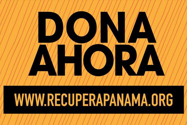 Lanzamiento de la Campaña Recupera Panamá